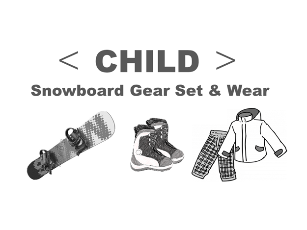 Picture of Snowboard Gear Set  & Wear Child