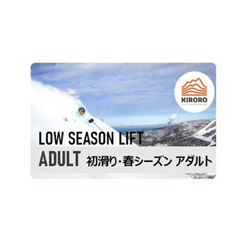Picture of low season lift pass adult